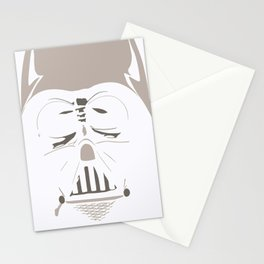 Ghost Darth Vader Stationery Cards