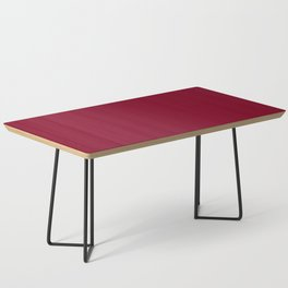 Solid Color Series - Burgundy Red Coffee Table