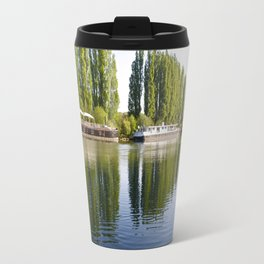 River Oise at Auvers. Travel Mug