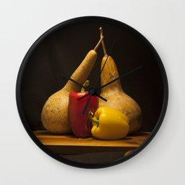 Vegetable Still life Wall Clock