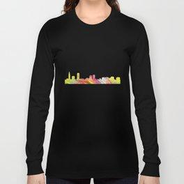 Baton Rouge Louisiana Skyline Long Sleeve T-shirt