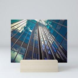 architecture skyscraper Mini Art Print