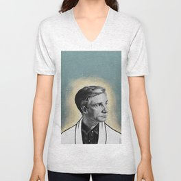 Conductor of Light - John Watson Unisex V-Neck