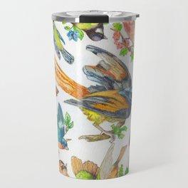 Birds, Birds, Birds Travel Mug