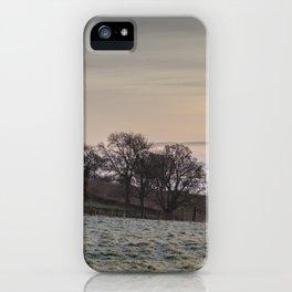 January Sunrise iPhone Case