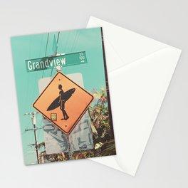 Grandview Street, Leucadia, Encinitas, California Stationery Cards