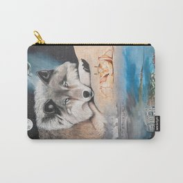 Cancer- The Zodiac Wildlife Series Carry-All Pouch