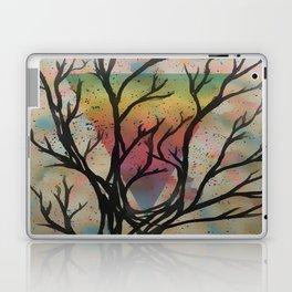 Colors through the trees Laptop & iPad Skin