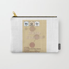 White Russian Carry-All Pouch
