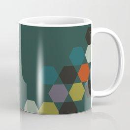 cluster || green night Coffee Mug