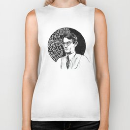 Atticus Finch Biker Tank