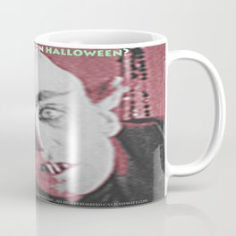 "'Count Orlock, the Vampire #2' from "" Nosferatu vs. Father Pipecock & Sister Funk (2014)"" Coffee Mug"