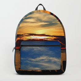 Peace and Relaxation at the Sea shore Backpack