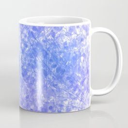 Bright Blue Purple Abstract Painting Coffee Mug