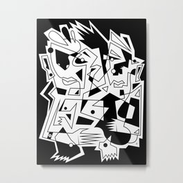 Against All Odds Metal Print