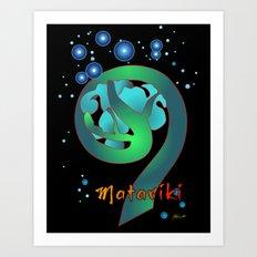 Matariki - Rise of The Pleiades Art Print
