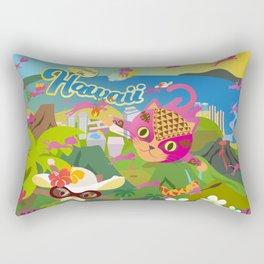 Mews in Hawaii Rectangular Pillow