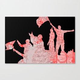 Victory Celebration Canvas Print