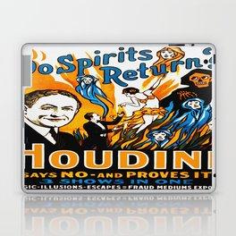 Vintage Houdini Do Spirits Return Laptop & iPad Skin