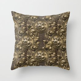 St Michael Baroque Throw Pillow