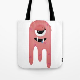Monster Girl Tote Bag