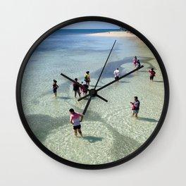 School of Fish, Green Island, Australia Wall Clock