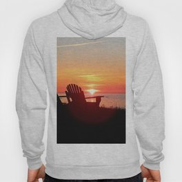 Chairs Sea and Sunset Hoody