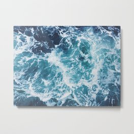 Small Waves Metal Print