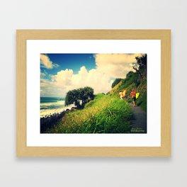 Surf's Up! Framed Art Print