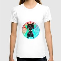 hippy T-shirts featuring Hippy Cats #2 by Lauren Miller