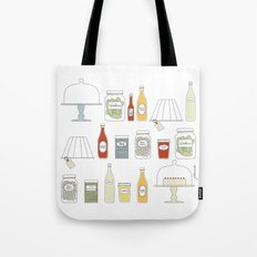 in the pantry Tote Bag