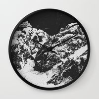 rocky Wall Clocks featuring Rocky by Deep | Love | Photography
