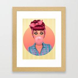 Bex Framed Art Print