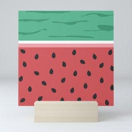 Fresh Watermelon Mini Art Print