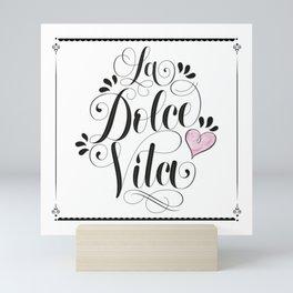 Sweet life Mini Art Print