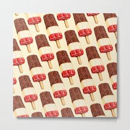 Ice Lolly Pattern - Fab Metal Print