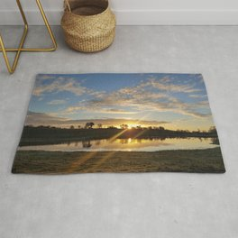Inbetween Country and Paradise Rug
