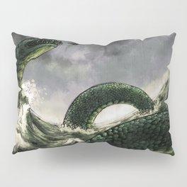 Jormungandr the Midgard Serpent Pillow Sham