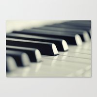 piano Canvas Prints featuring Piano by Falko Follert Art-FF77