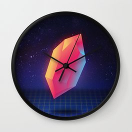 Diamond Dimensions #3 Wall Clock