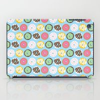 donuts iPad Cases featuring Donuts by Nicola D'Andrea