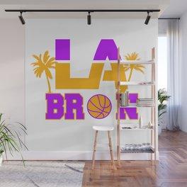 LA Bron Los Angeles Palm Tree Wall Mural