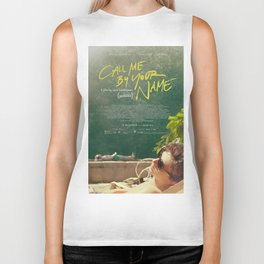 Call Me By Your Name Movie Poster Biker Tank