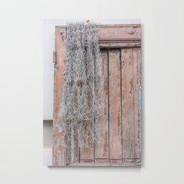 Old Door to New Life Metal Print