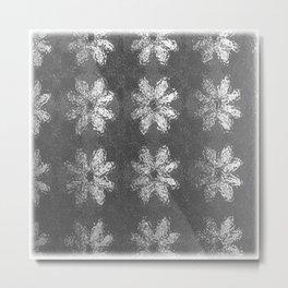Flower Wash Metal Print
