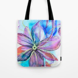 magical flower Tote Bag