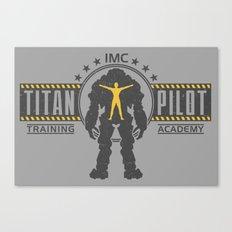 Titan Pilot Training Academy Canvas Print