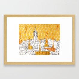 Honey City Framed Art Print