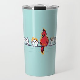 That new guy turns out to be a disaster Travel Mug