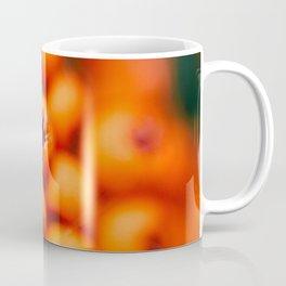 Winter Berries (Macro) in London by Diana Eastman Coffee Mug